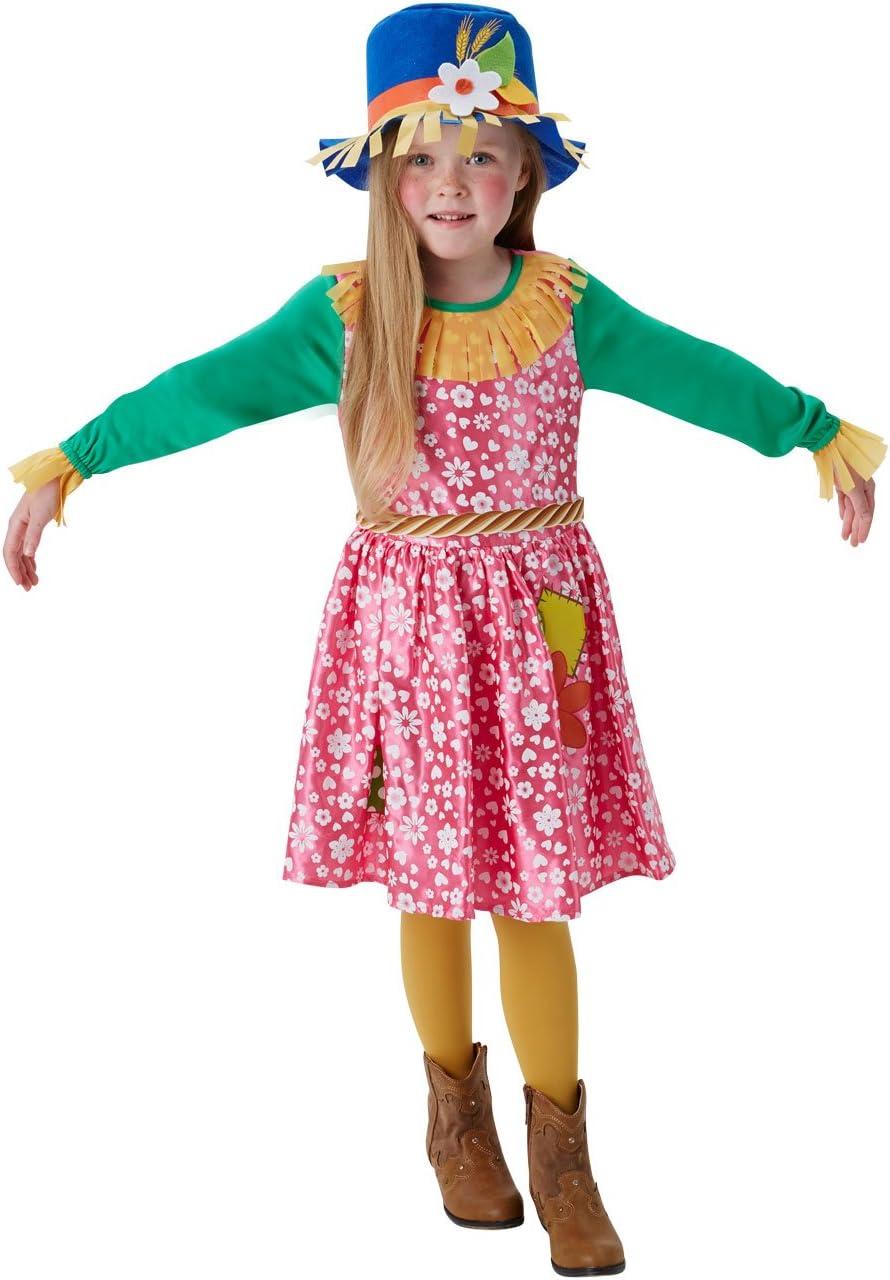 Rubies Disfraz de espantapájaros para niñas, 140 cm, de 9 – 10 ...