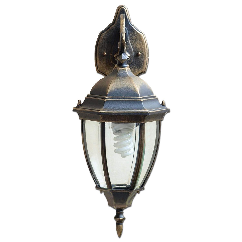 Antike XXL Wand-Außenleuchte IP44 E27 aus Aluguss nostalgischer Stil Außenlampe Wandleuchte Licht-Erlebnisse