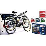Rhino Automotive© 2 Bicycle Rear Mount Carrier Car Rack Bike Cycle RW1500