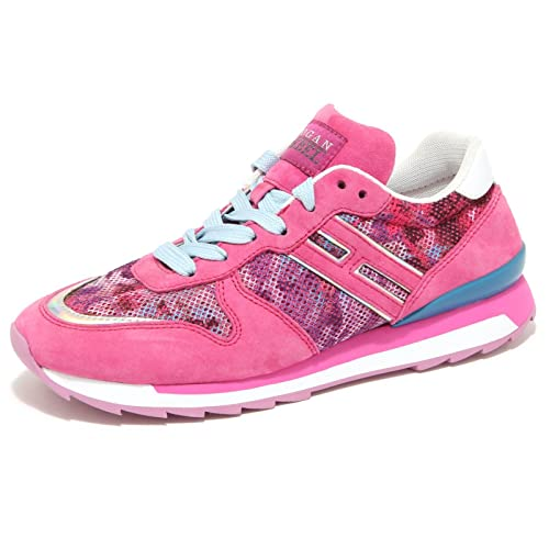 9832M sneaker HOGAN REBEL scarpe donna shoes woman fucsia