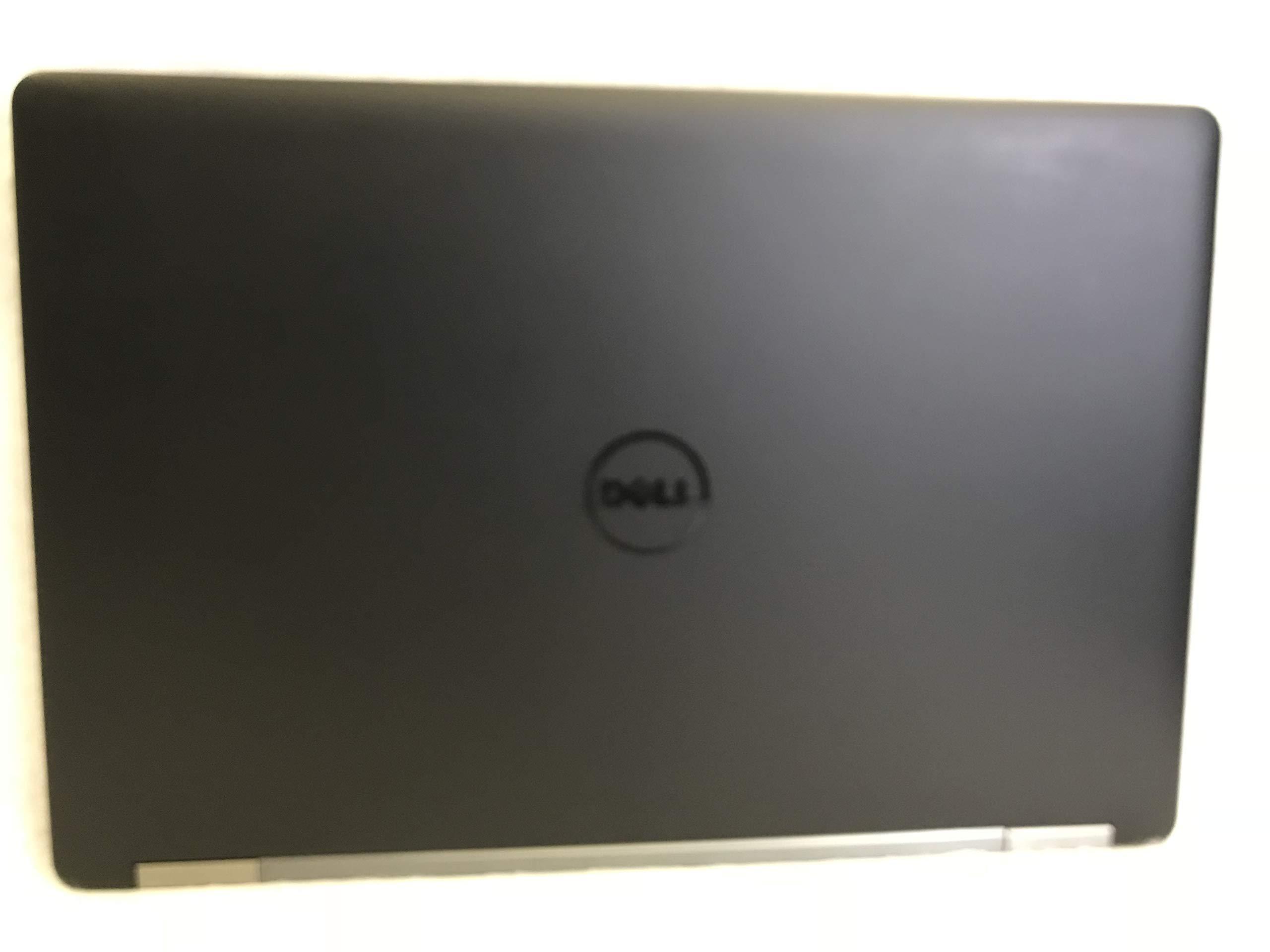 Dell Latitude E5570 Intel Core i5-6300U X2 2.4GHz 8GB 256GB SSD 15.6'' Win10,Black (Renewed)