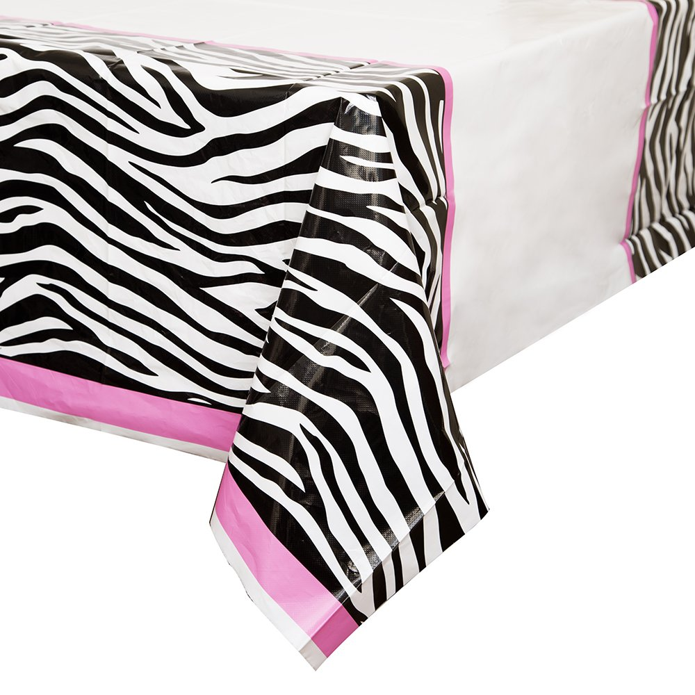 Amazon.com: Zebra Print Plastic Tablecloth, 84\
