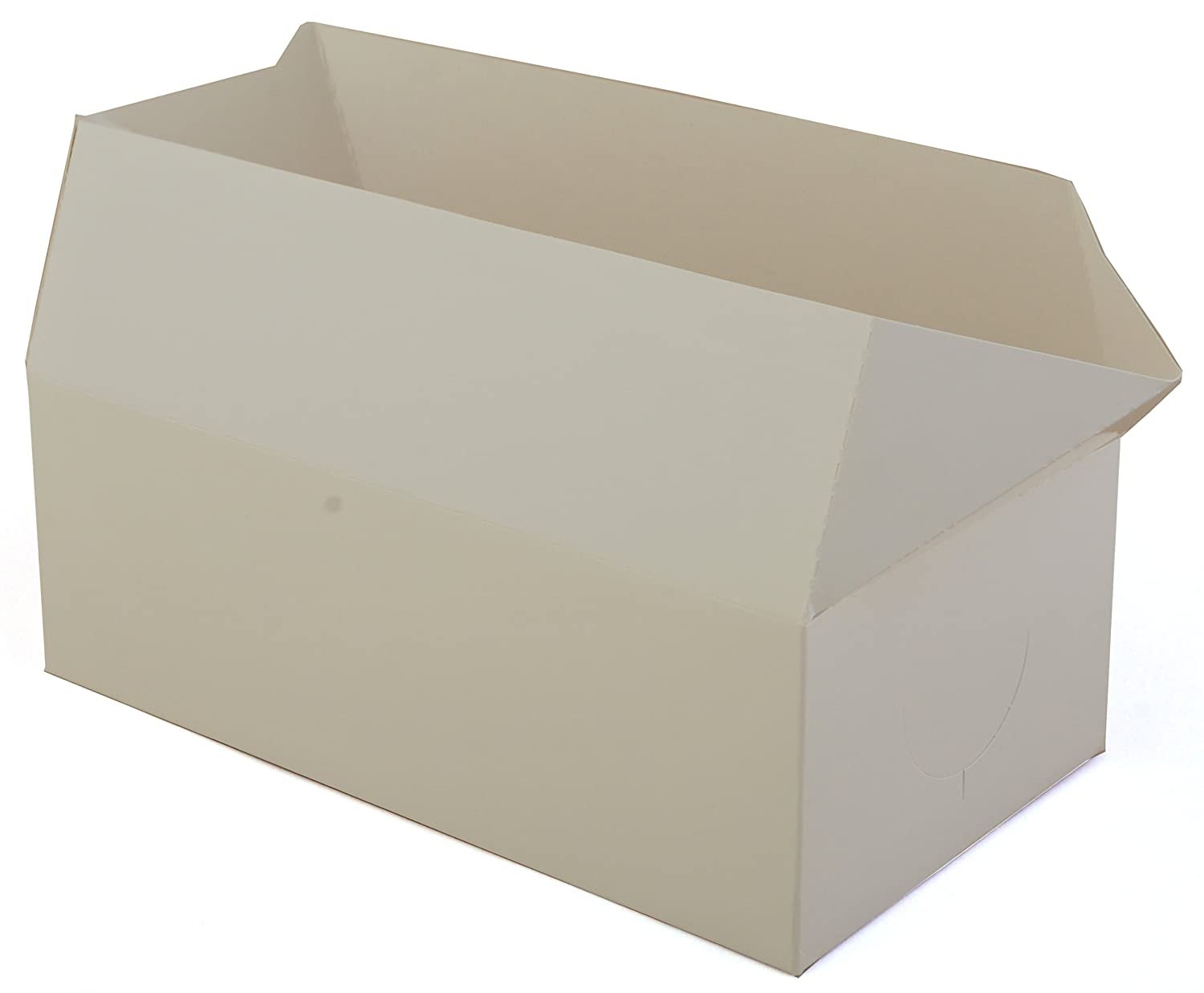 8-7//8 Length x 4-7//8 Width x 3-1//16 Height Southern Champion Tray 2730 Paperboard White Lunch Carry-Out Box Fast Top Case of 400