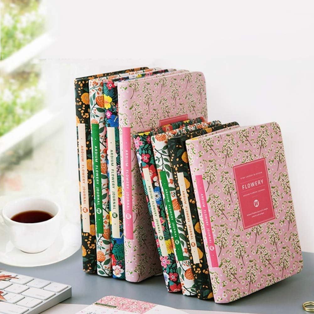 calendario calendario organizzatore 14.8 * 11 cm B planner Toim Pocket-Size fiorito per donne o ragazze Quaderno