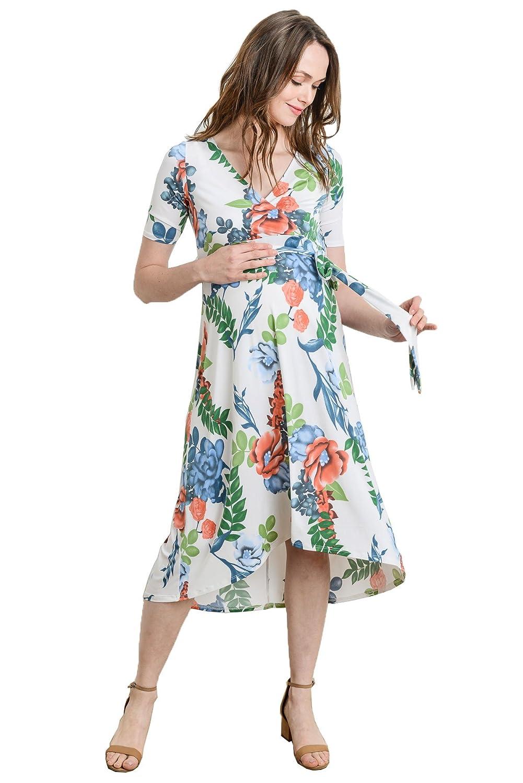 売れ筋商品 Hello MIZ DRESS レディース Large|Ivory B07BN5DZFJ Large|Ivory Floral Floral Ivory MIZ Floral Large, インバグン:eca11746 --- casemyway.com