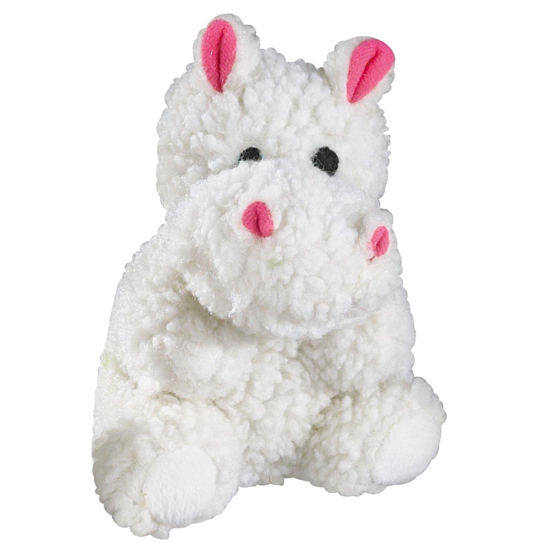 Zanies Fleecy Friend Dog Toys, 6'' Hippo