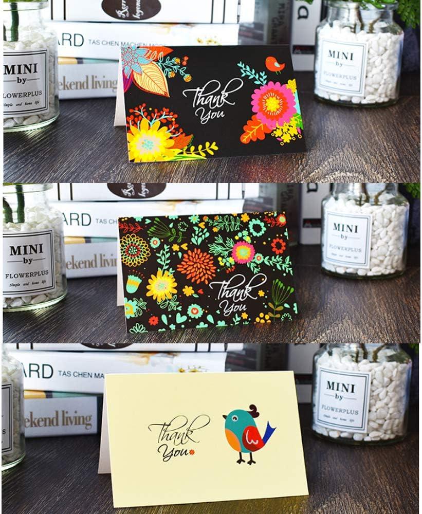 4 x 6 pulgadas color Best wishes 6 dise/ños diferentes de estilo moderno interior en blanco tarjetas de notas con sobres incluidos Paquete de 48 tarjetas de felicitaci/ón de bendici/ón