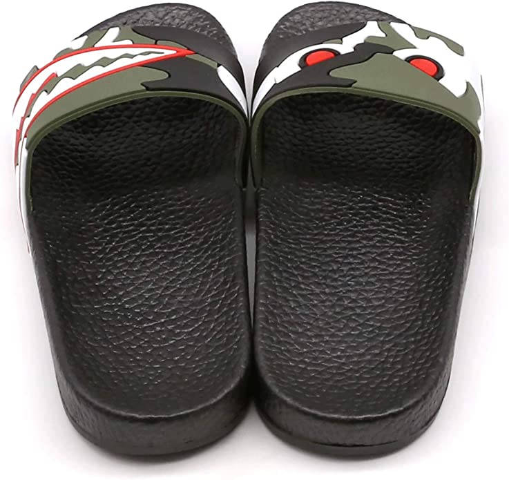 Kids Summer Slipper Bengal Tiger Panthera Tigris House Slippers Shower Slide Anti-Slip Beach Pool Bath Sandals for Boys Girls