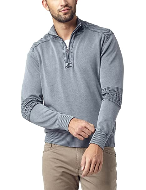 Pioneer Herren Strickjacke Strick Troyer, Grau (Gray Smoke