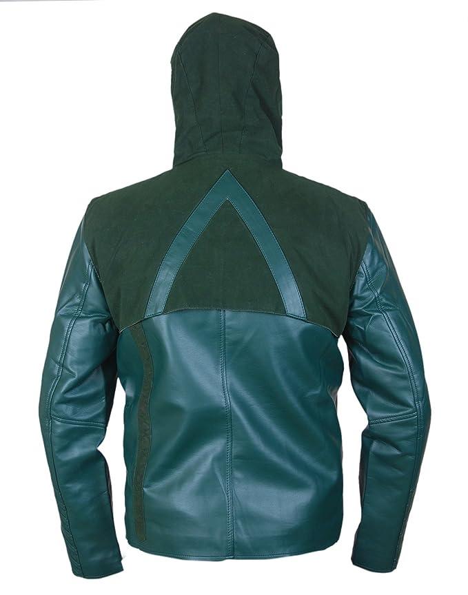 Leatherly Chaqueta de Hombre Arrow Green Sintético ...