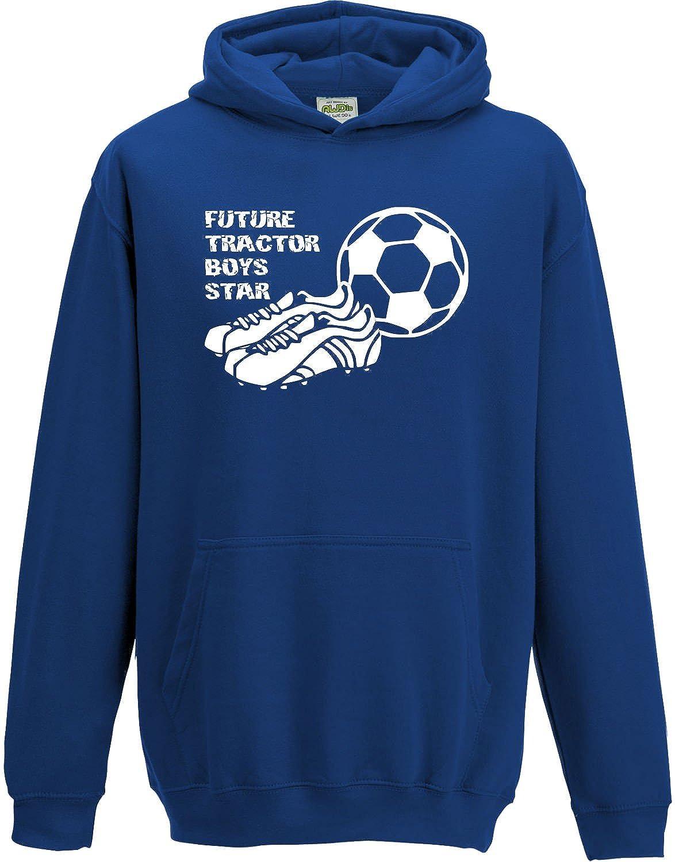 Hat-Trick Designs Ipswich Town Football Baby/Kids/Childrens Hoodie Sweatshirt-Royal Blue-Future Star-Unisex Gift