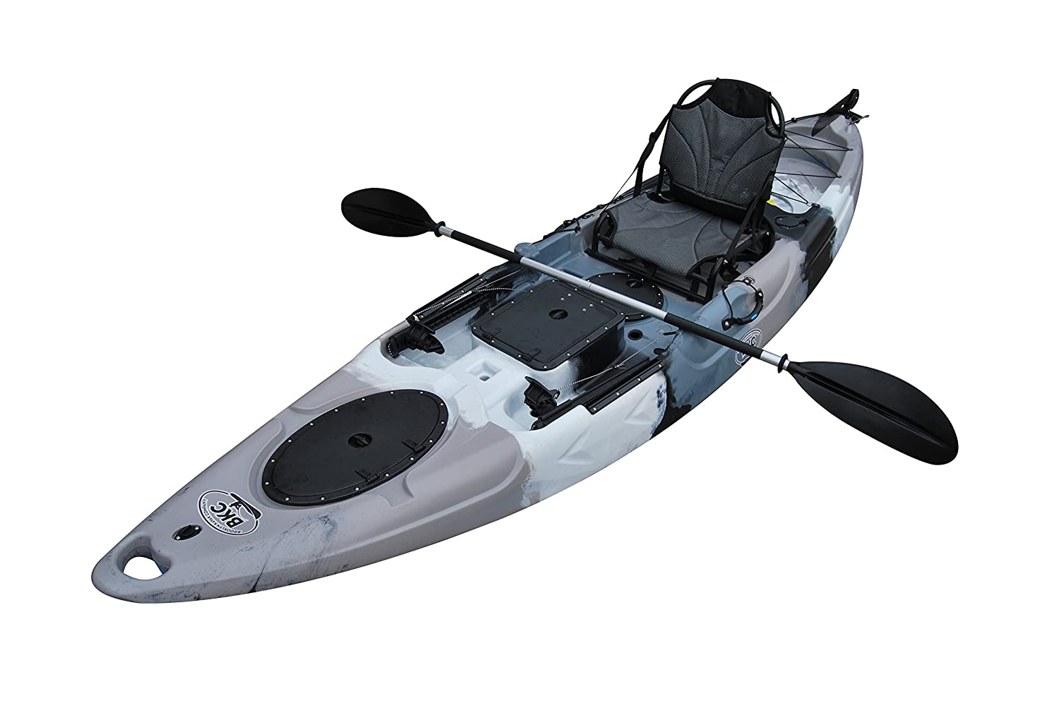 Brooklyn Kayak Company Sit On Top Fishing Kayak with Paddles