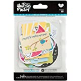 Bella Blvd 1262 Illustrated Faith Basics Paper Pieces Cardstock Die-Cuts, Go, Multicolor