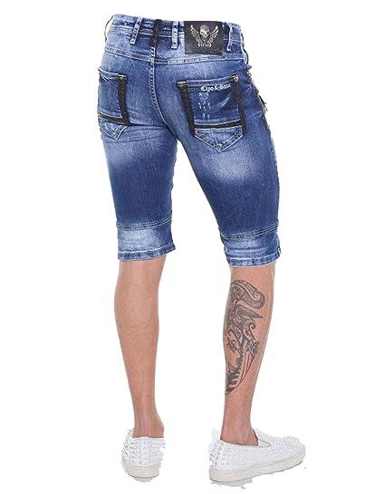 Cipo   Baxx Herren Shorts Freizeit Bermuda kurze Hose in Regular Fit aus  100% Baumwolle 37  Amazon.de  Bekleidung 6aace273db