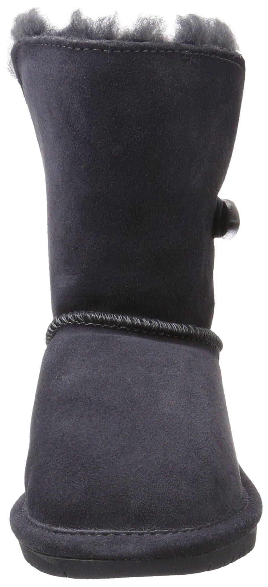 Bearpaw Abigail Charcoal Unisex Kids Shearling Boot Size 1M by BEARPAW (Image #4)