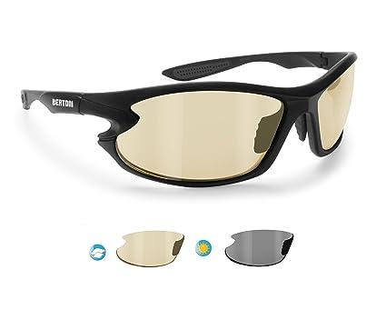 619d6d5564b Polarized Sports Sunglasses Photochromic for Men Women Running Cycling  Fishing Golf Baseball - 676 Windproof Wraparound