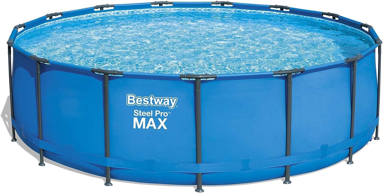 Bestway 56438SF - Piscina Desmontable Tubular Steel Pro 457x122 cm ...