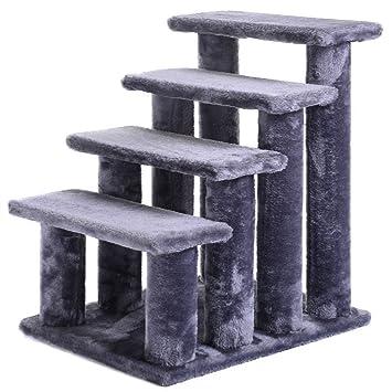 21u0027u0027 Pet Ramp Cat 4 Step Stairway Perch Scratcher Stairs