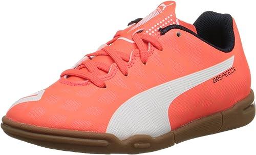 chaussure puma evospeed indoor orange