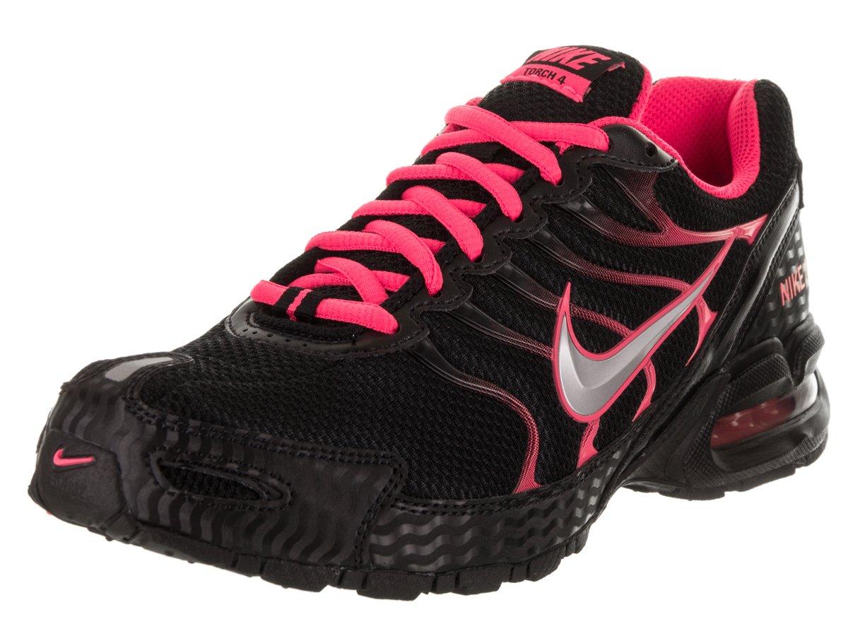 a78bd9e17b2 Galleon - Nike Women s Air Max Torch 4 Running Shoe Black Metallic  Silver Pink Flash Size 9 M US