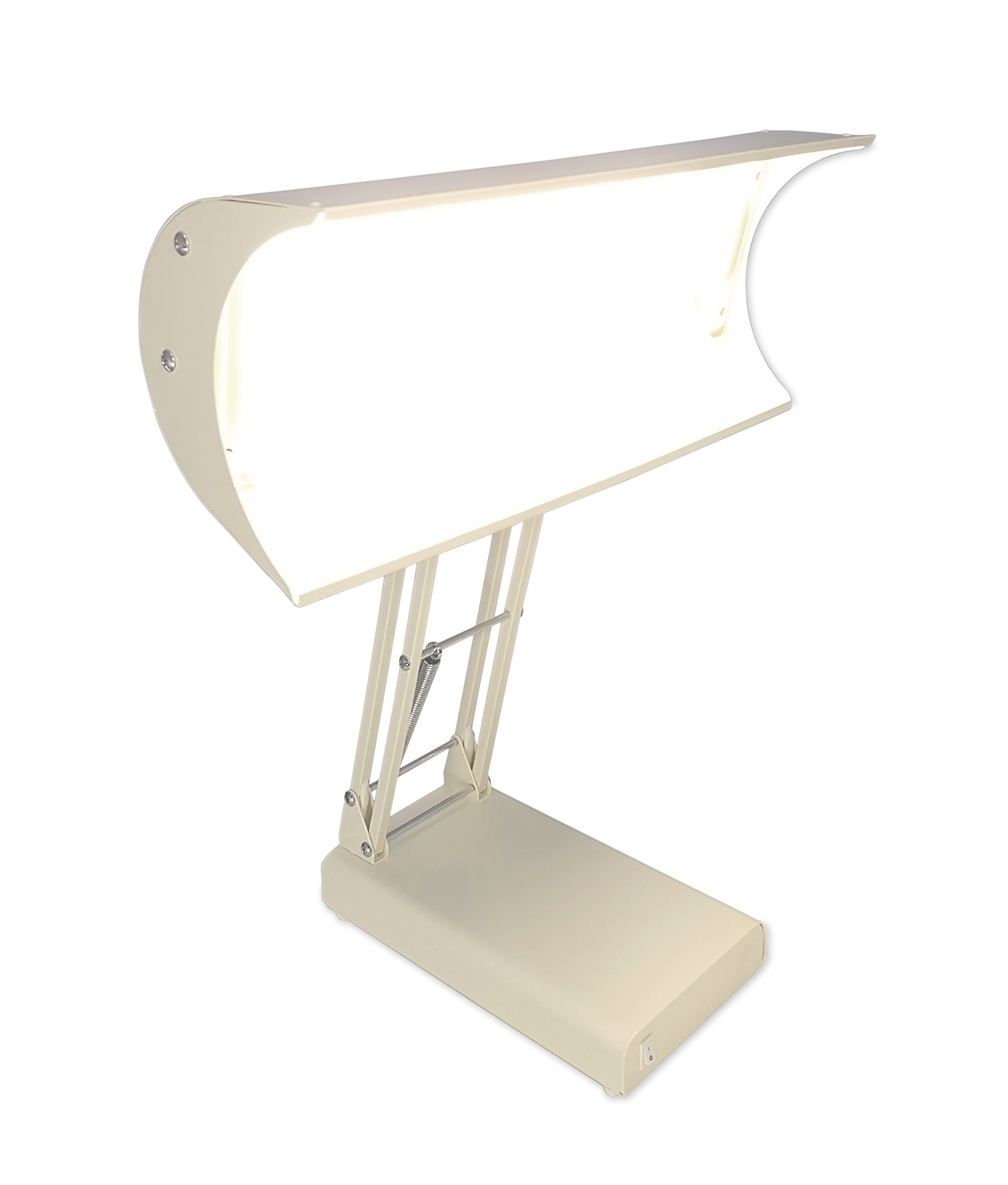 Northern Light 10,000 Lux Bright Light Therapy Desk Lamp, Beige by Northern Light Technologies (Image #5)