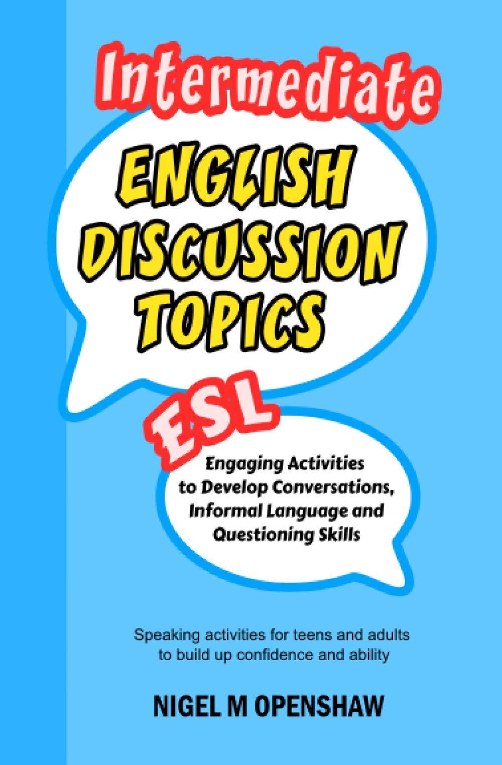 Speaking topics esl