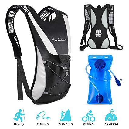 Breathable Bicycle Hydration Backpack Vest Bag Pack  Camping Running Cycling UK