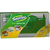 Swiffer Sweeper 3 in 1 Mop and Broom Floor Cleaner & Swiffer Dusters Disposable Unscented Cleaning Dusters Starter Kit
