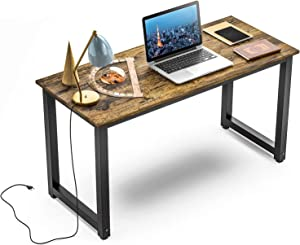 Computer Desk Modern Study Desk Simple PC Laptop Computer Table for Home Office Workstation (47 inch)