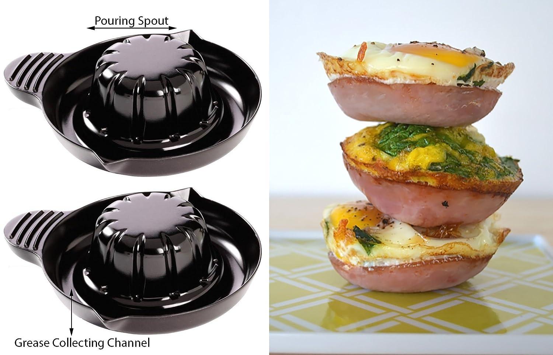 Amazon.com: Bacon Microondas Cocina/colador de Bacon/Sano ...