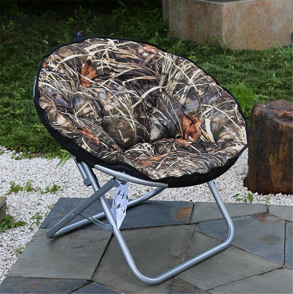 TTYY Mond Stuhl 2PCS Fashion Indoor / Outdoor Komfortable Klappstuhl (bitte hinterlassen Sie eine Nachricht, wenn Sie eine andere Farbe benötigen)