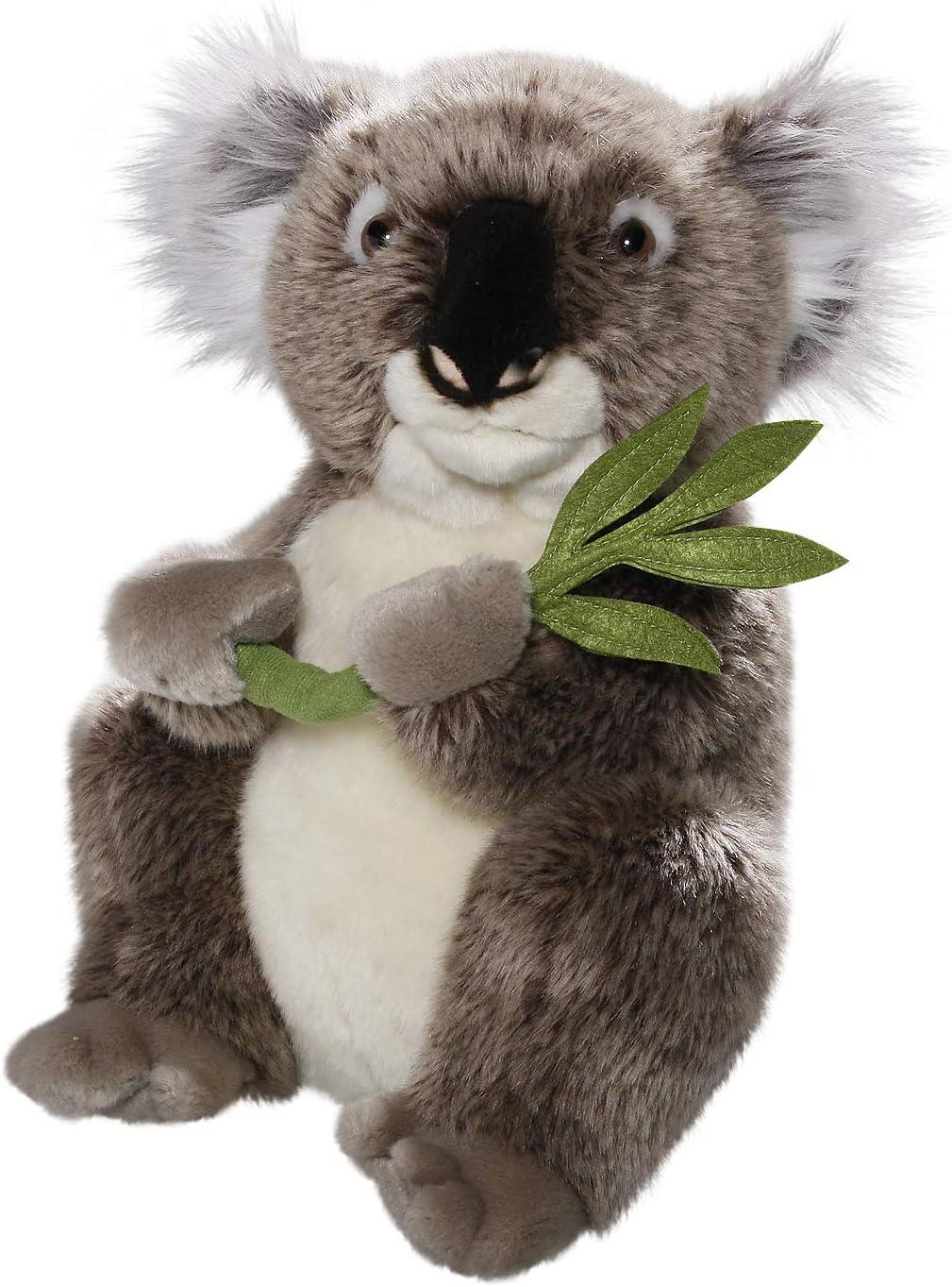 Carl Dick Peluche - Oso de Koala con la Hoja (Felpa, 30cm) [Juguete] 2890