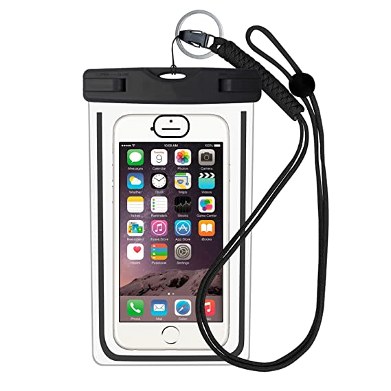 timeless design ff8c5 bee91 Amazon.com: Aimitek Waterproof Pouch Universal Phone Dry Bag ...