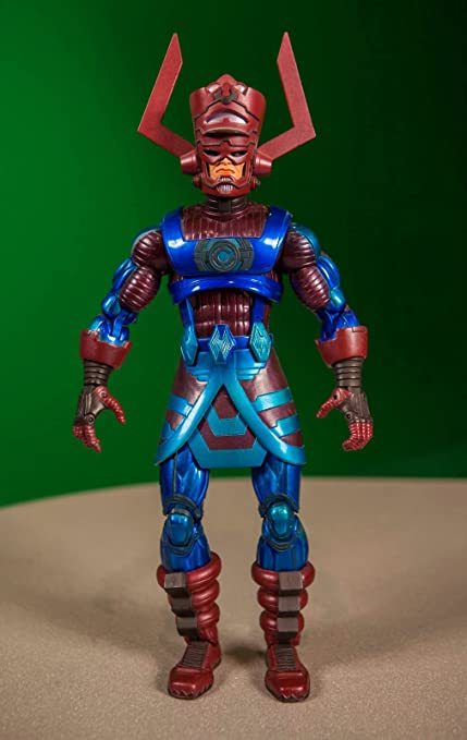 Amazoncom Marvel Legends Series 9 Galactus Build A Figure Toys