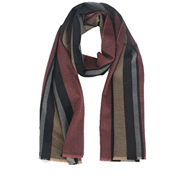 6b4d02a599ac IRRANI 100% Wool Men Scarf Winter Men Cashmere Long Scarf Scarves 67 By  15.7 In  Amazon.co.uk  Clothing