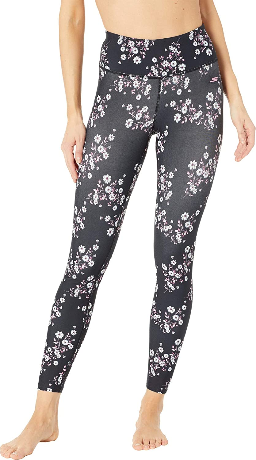Amazon.com: Skechers Womens Cherry Blossom Leggings: Clothing