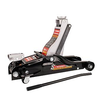 Forever Speed Speed Gato Hidráulico, Capacidad de Carga 2 T,Altura de elevación: 89 a 359 mm (Negro): Amazon.es: Coche y moto