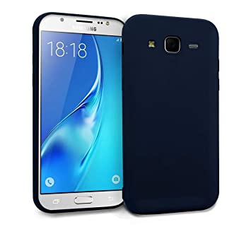 MyGadget Funda Slim para Samsung Galaxy J5 [2016] en Silicona TPU - Anti Rasguños - Carcasa Protectora Ultra Delgada [ 1,2 mm ] cómoda - Azul