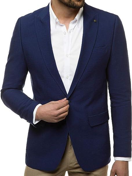 OZONEE Herren Sakko Jackett Anzugjacke Blazer Anzug Jacke