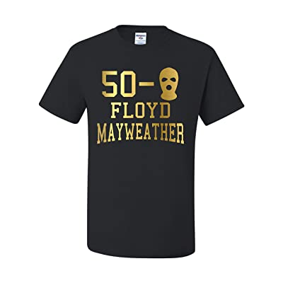 50-0 Floyd Mayweather Money Fight Team Mayweather Unisex T-SHIRT