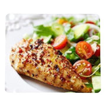 alfombrilla de ratón filete de pollo a la plancha con ensalada de colores: Amazon.es: Electrónica
