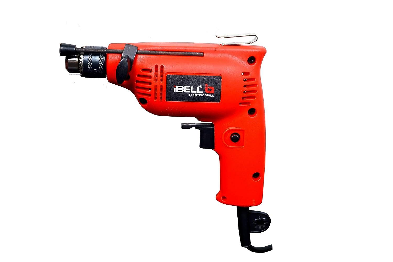IBELL Pistol Grip Drill Machine (ED06-79, 230W, 4500RPM, 6.5 mm, Red)