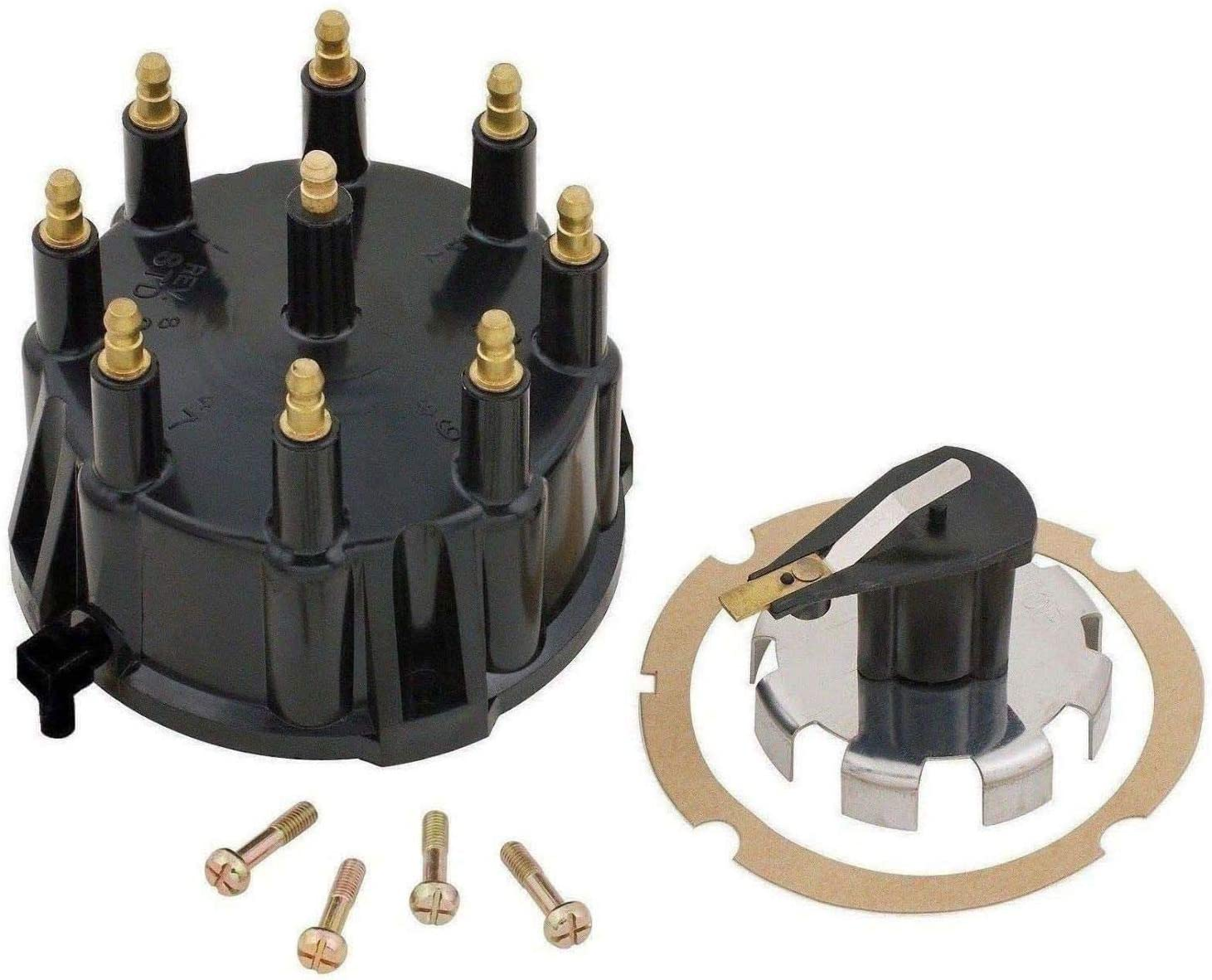 Mercruiser Thunderbolt V6 Ignition Sensor Tune-Up Cap Rotor plug wires COIL 4.3