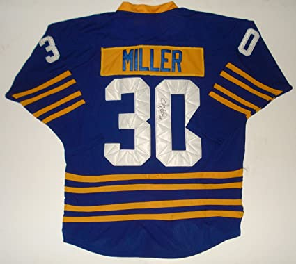 Ryan Miller Autographed Jersey (Sabres) at Amazon s Sports ... 2453c7016c5