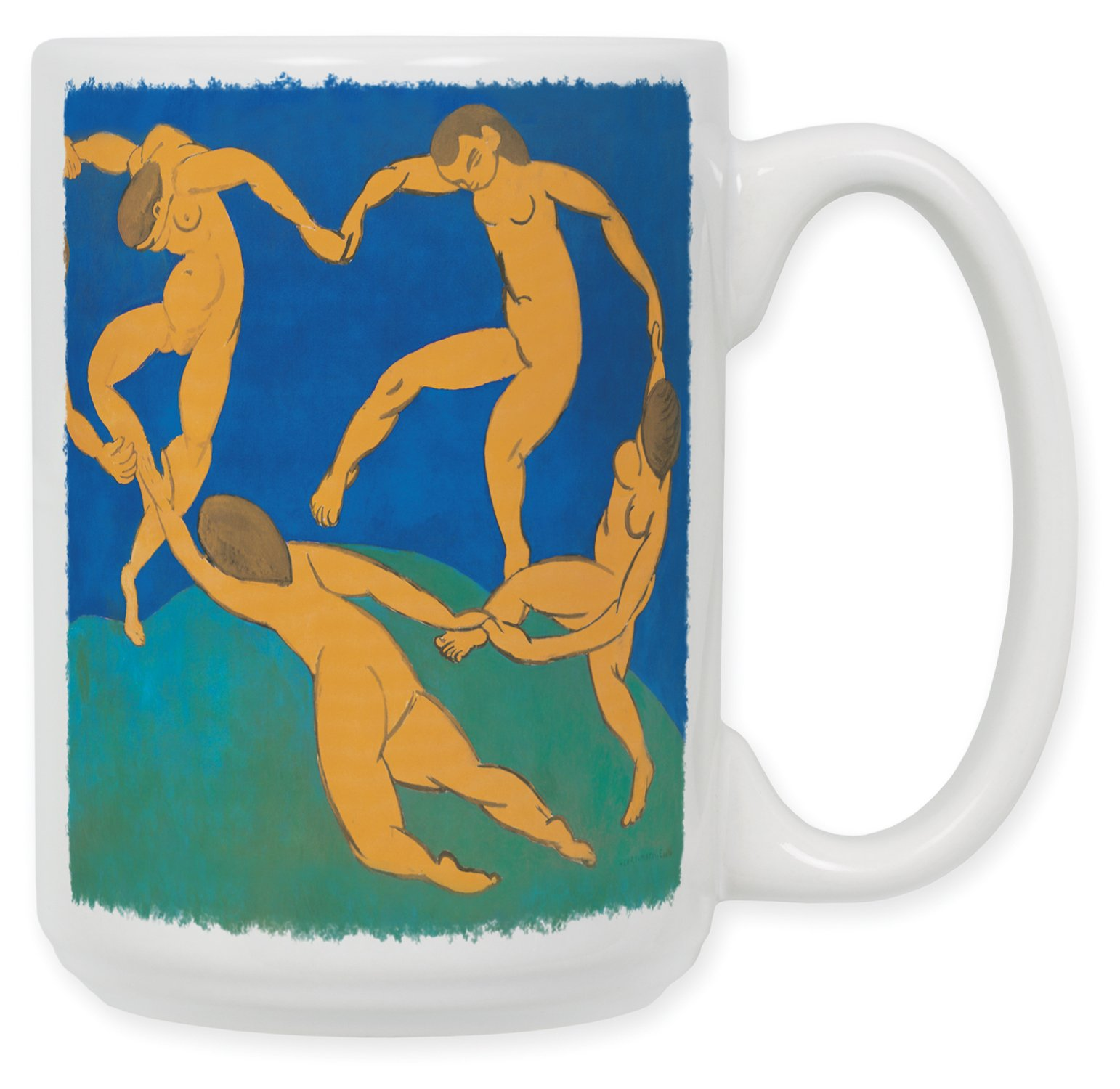 Art Plates ''Matisse: The Dance'' Ceramic Coffee Mug, 15 oz