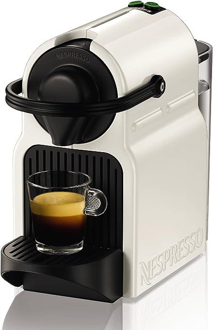Nespresso Intenso Krups Inissia XN1001 Cafetera de cápsulas de 19 bares con 2 programas de café y función de ...