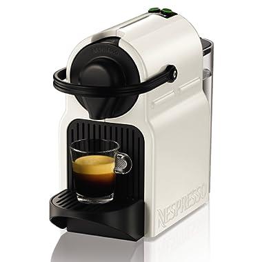 Nespresso Krups Inissia XN1001 - Cafetera monodosis de cápsulas Nespresso, 19 bares, apagado automático