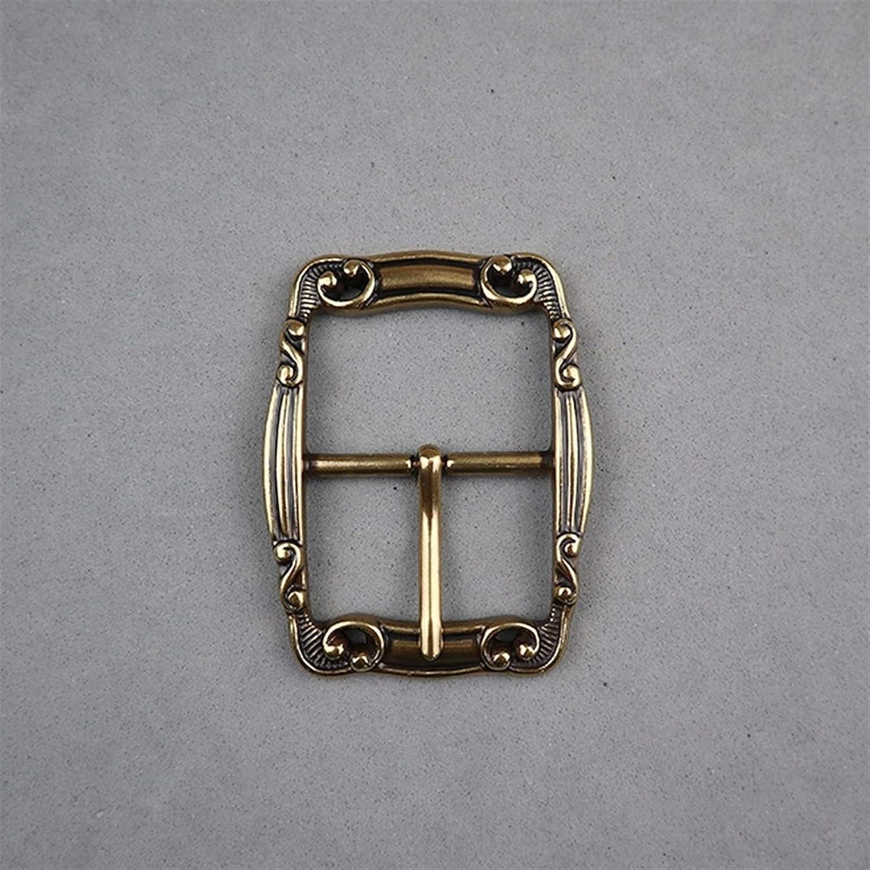 Hebillas Craft Hardware Acabado Lat/ón Centro De Estilo De Barra De Hebilla De Cintur/ón Antiguo