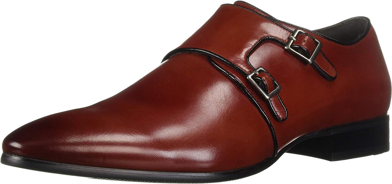 Stacy Adams Men/'s Vance Double Monk Strap Scotch Leather Dress Shoes 25203-232