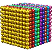 1000 Pieces 3 Millimeter M-agnetic Balls Building Sticks Blocks Toys for Intelligence Learning Development and Creative…